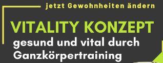 Neuer Kurs: VitalityKonzept  Gerätetraining
