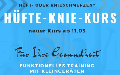 Hüfte-Knie-Kurs